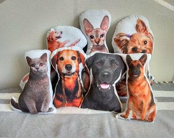 Sofa 3D Dog Shape Pillow Hound