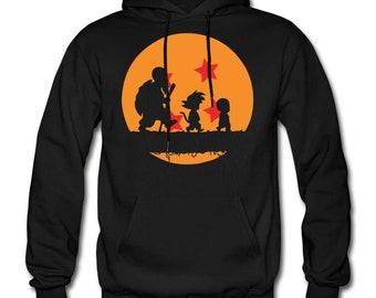 HOLRAN Children Size Hoodie Dragon Ball Z Son Goku Thicken Jacket Fleece Winter Warm Hoodie