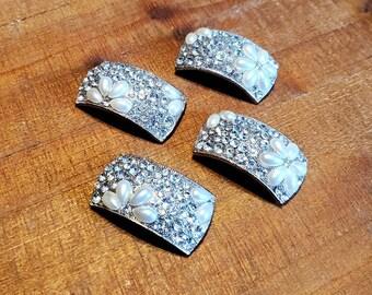 Jewelry Art Magnets - Set of 4