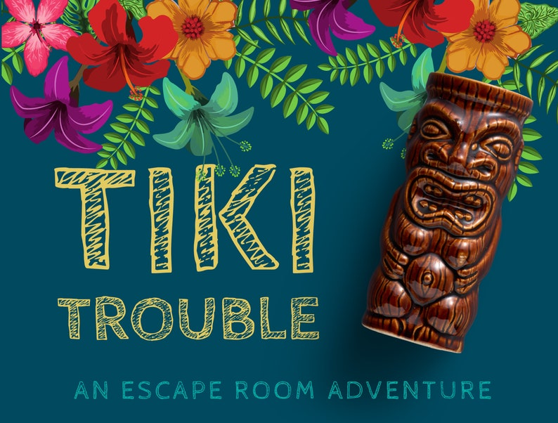 This escape room game is one of the best Hawaiian themed gifts