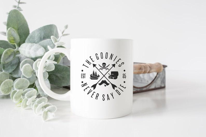 The Goonies Never Say Die 1985 Mug