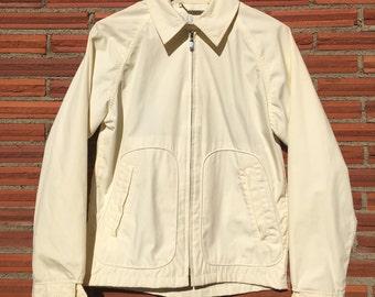 60s McGregor Green Corduroy jacket with black trim large