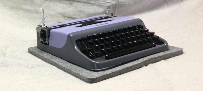 Typewriter Pad oversize 100% wool ships free  image 0