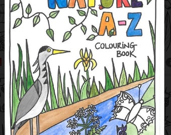 Nature A - Z Colouring Book