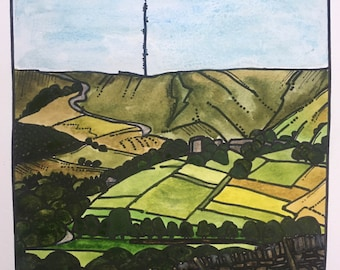 Summer at Holme Limited Edition Print