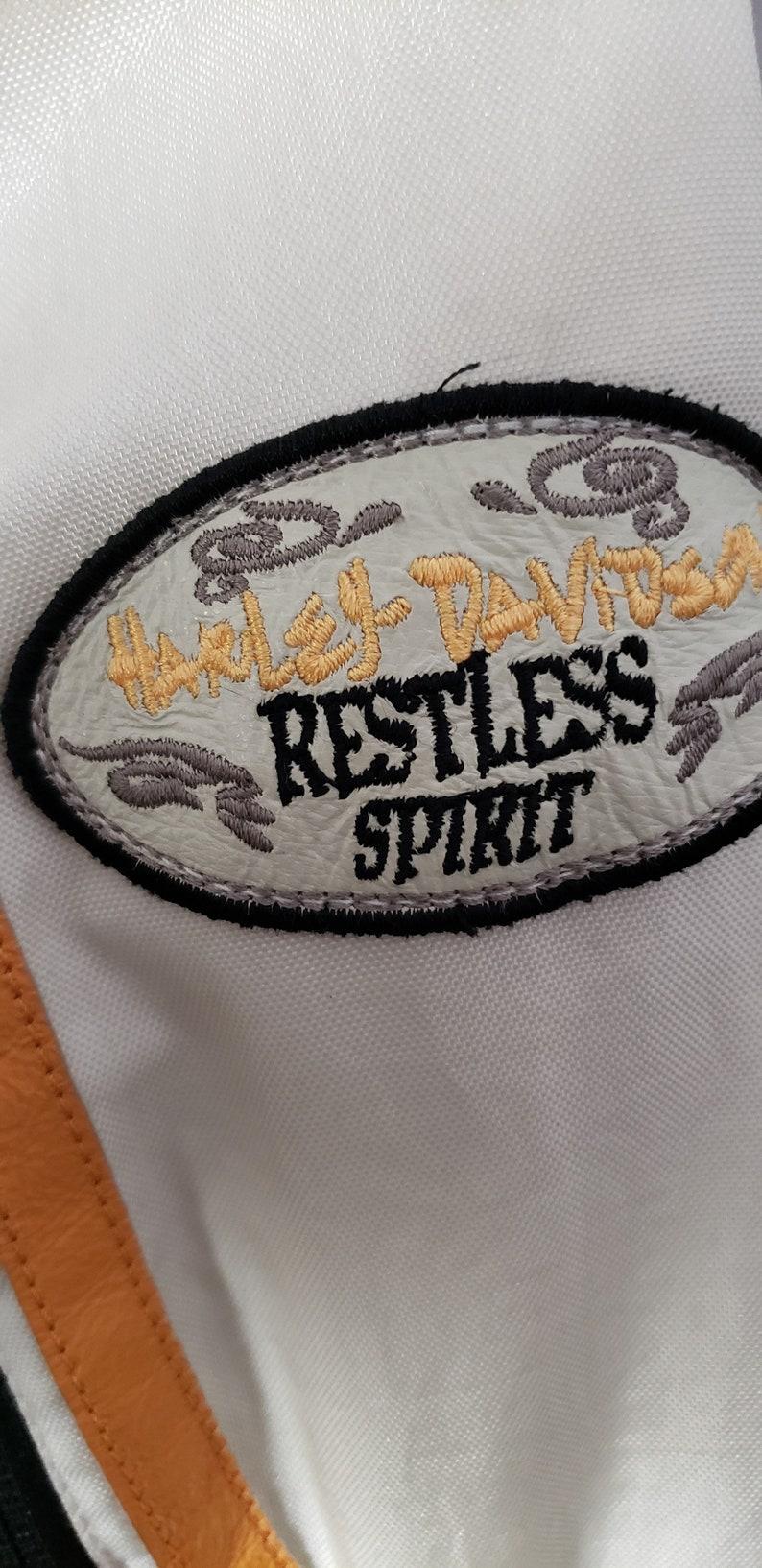 Harley Davidson Riding Jacket Women\u2019s embroidered off-white coat size small