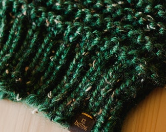 Chunky Hand Knit Beanie -Multiple Colors Available