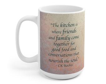 Nourish the Soul Mug