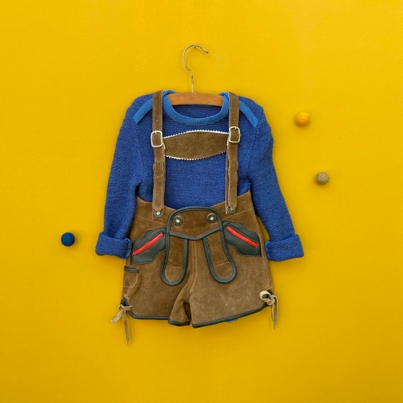 Soft suede Leather pants for toddler- Oktoberfest,