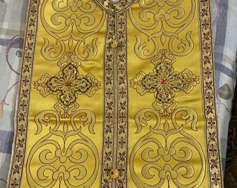 Variety Priest vestments- Coptic orthodox liturgy vestments- fully customizable. Colour, Style and size :
