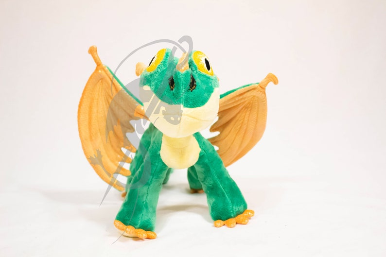 Dragon Plush Sewing Pattern PDF Holiday Gift DIY Terrible Terror How to Train Your Dragon