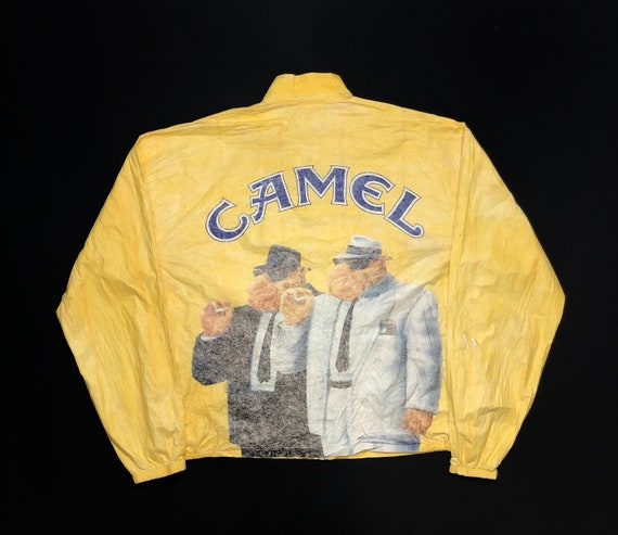 Vintage Camel Cigarettes Rain Coat Jacket