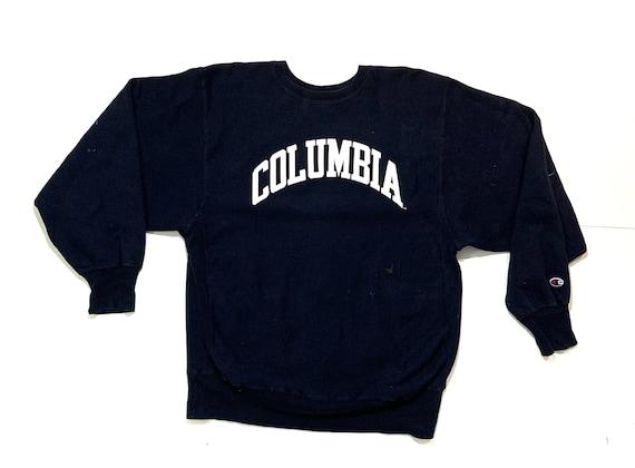 Vintage 90s Champion Columbia Reverse Weave Crewne