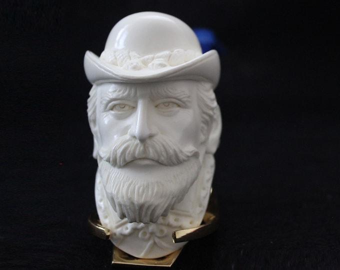Meerschaum pipes by STAR -Block Meerschaum Buffalo Bill Wild West Cowboy