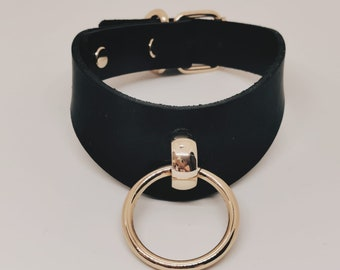 Submissive Choker Goth Slave Collar for Submissive BDSM Day Collar for Bondage DDLG /& Petplay BDSM-gear for Women by Provocateur