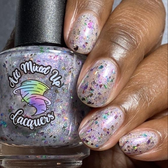 "All Mixed Up Lacquer ""Pick Your **** Up"""