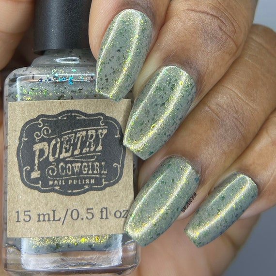 "Poetry Cowgirl Nailpolish ""Live for the Trees"""