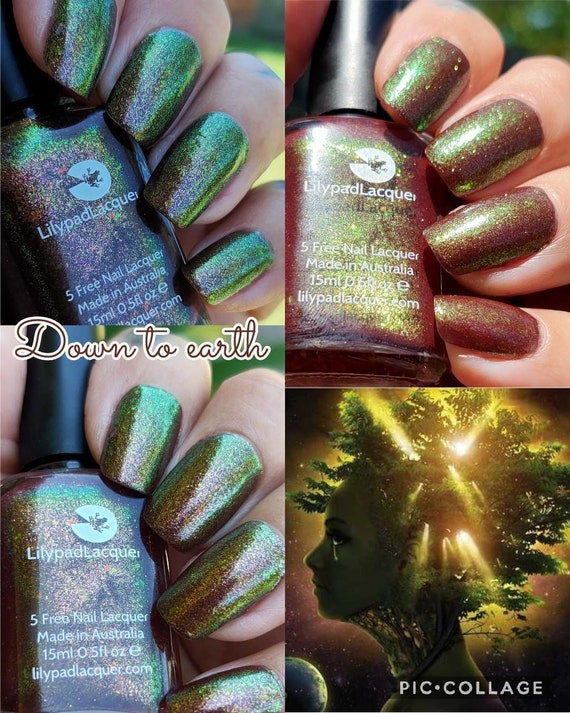 "Lilypad Lacquer ""Down To Earth"""
