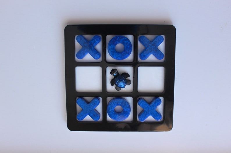 Resin Tic Tac Toe Boards; coffee table games; decor; children\u2019s games