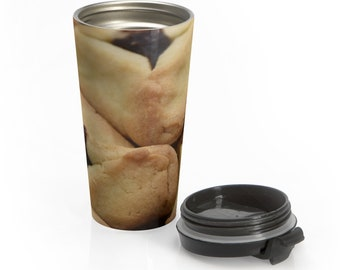 Hamantashen Stainless Steel Travel Mug