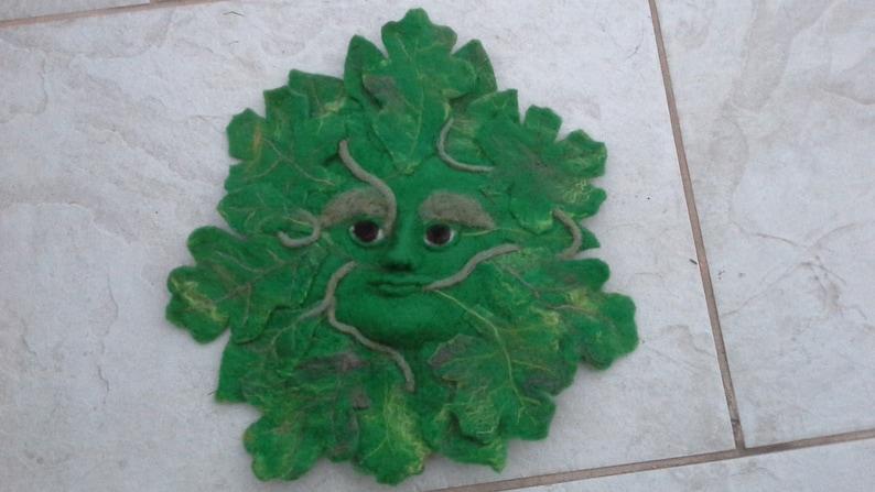 Needlefelt Green man