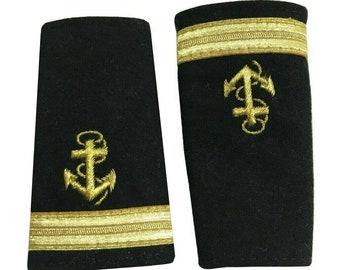 Navy Epaulettes /Marine epaulette sub-Lieutenants Facing Pair