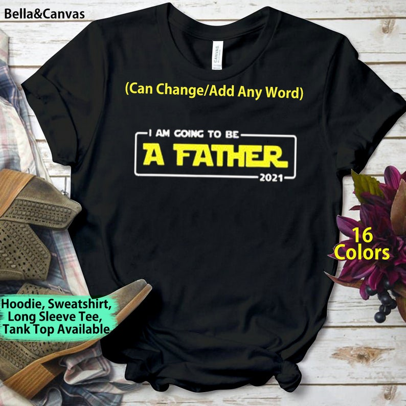 Ich werde ein Vater 2021 zum ersten Mal Papa Shirt ...