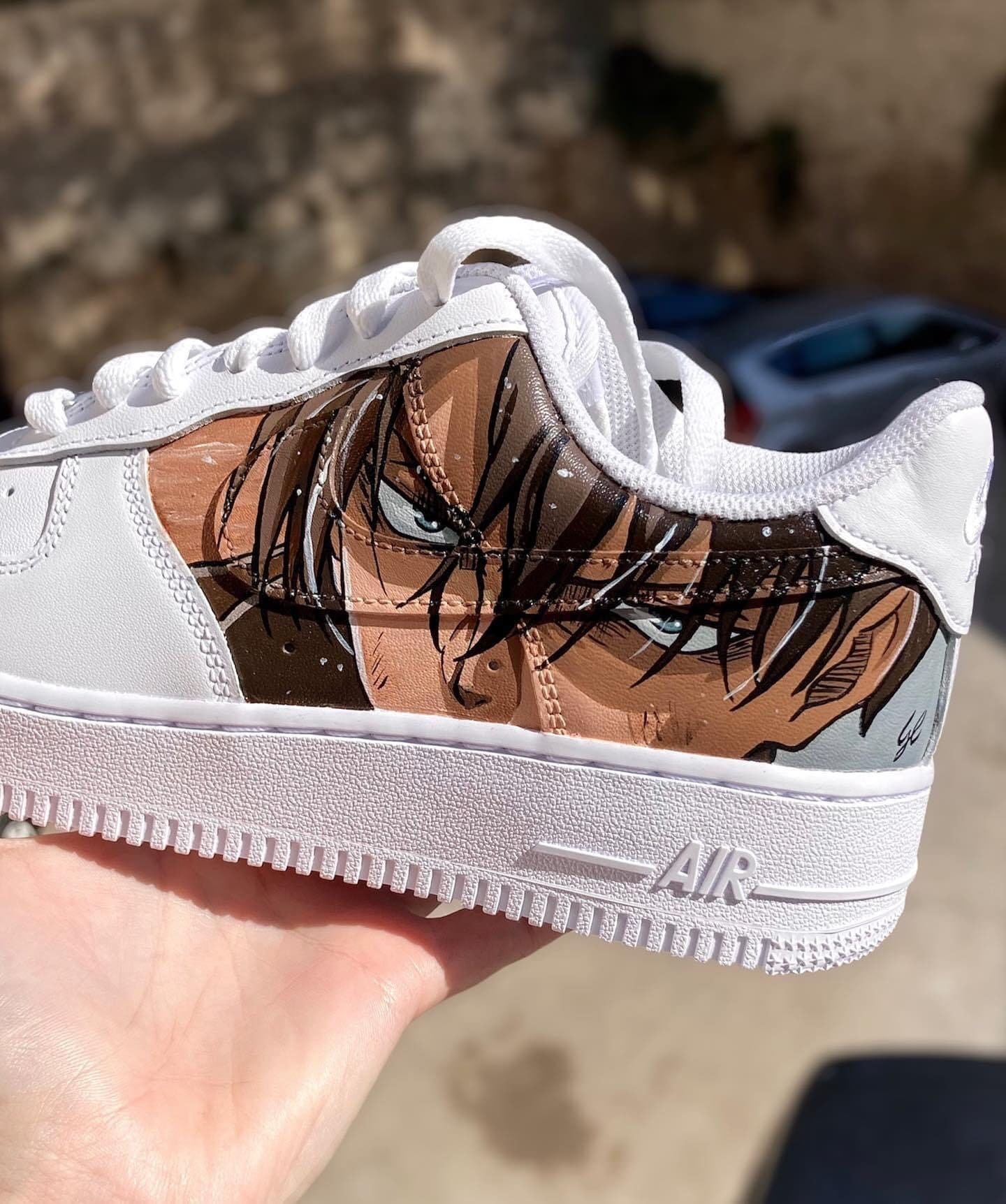 Nike Air Force 1 aot attack of giants