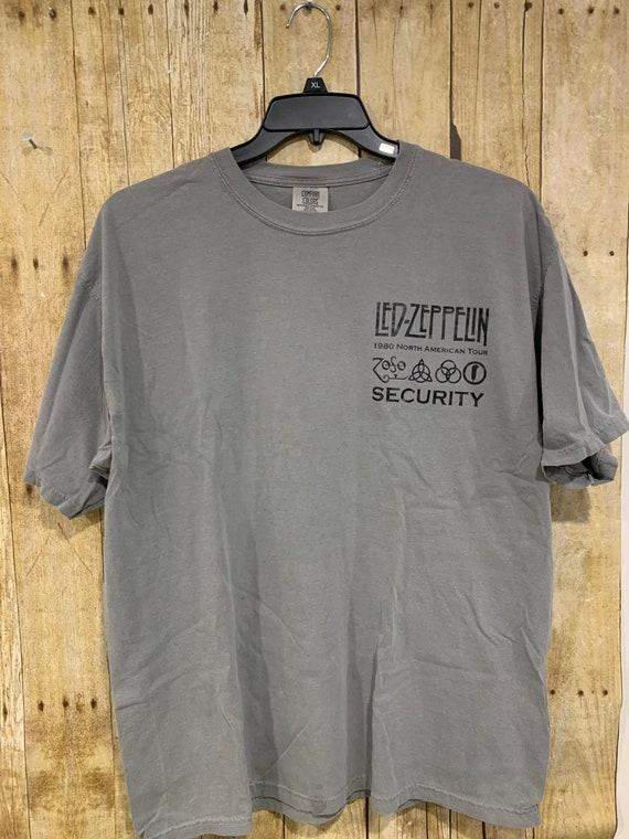 Led Zeppelin concert shirt XL