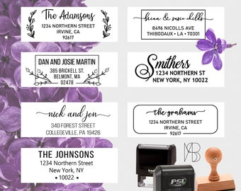 calligraphy couple stamp personalized custom name stamp
