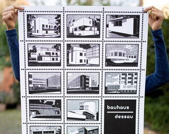 "Poster ""Bauhaus Dessau"""