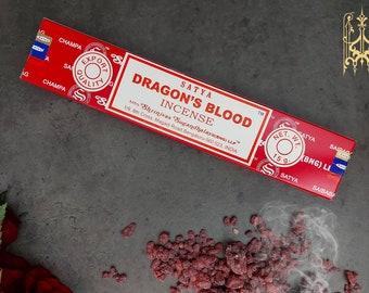 Dragon's Blood Incense Sticks - cleaninsing sticks