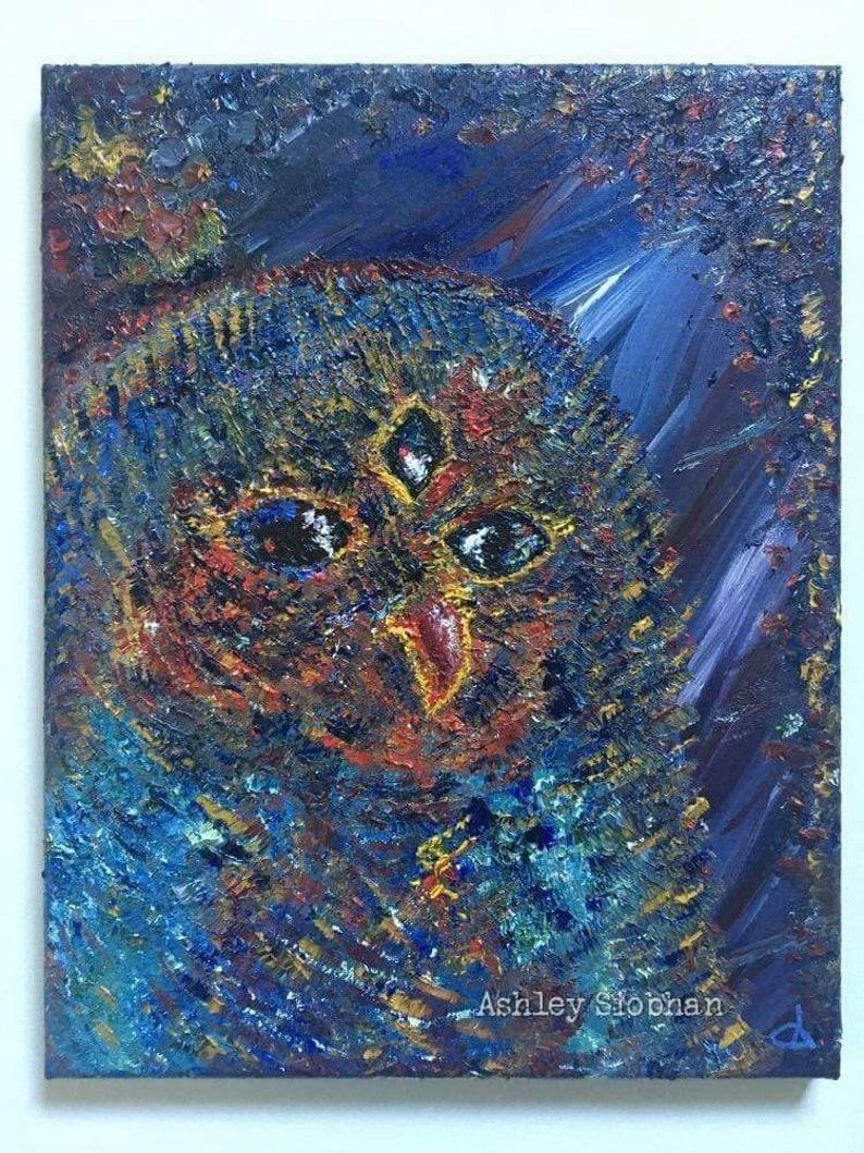 Three Eyed Owl