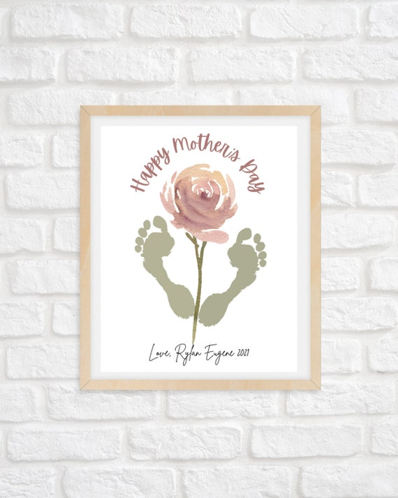 Happy Mother's Day Footprints/Mother's Day