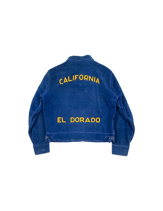 FFA California 1970s embroidered corduroy jacket