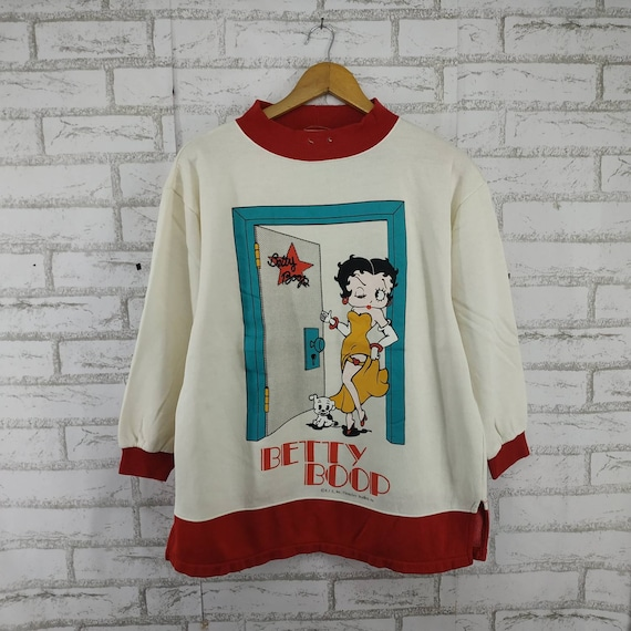 Vintage Betty Boop Sweatshirt. #K