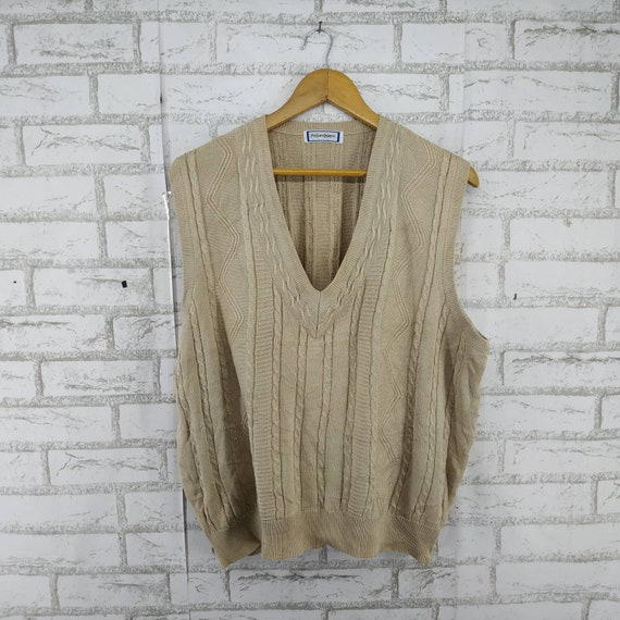 Vintage Yves Saint Laurent Knit Vest. #478