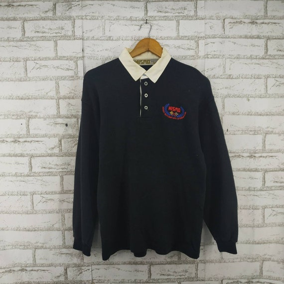 Vintage Long Sleeve Nismo Shirt. Embroidery. #K