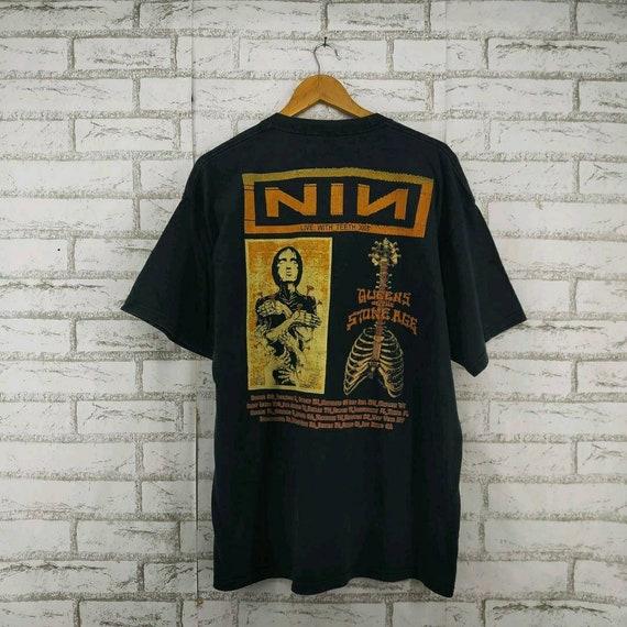 Vintage Nine Inch Nails Rock Band Shirt. #J