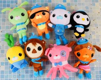 Octonauts Plushie Doll Stuffed Toys