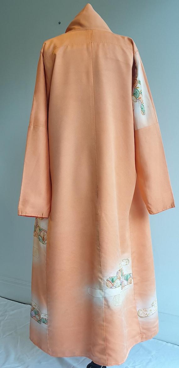 Vintage Silk Kimono / Silk Dressing Gown
