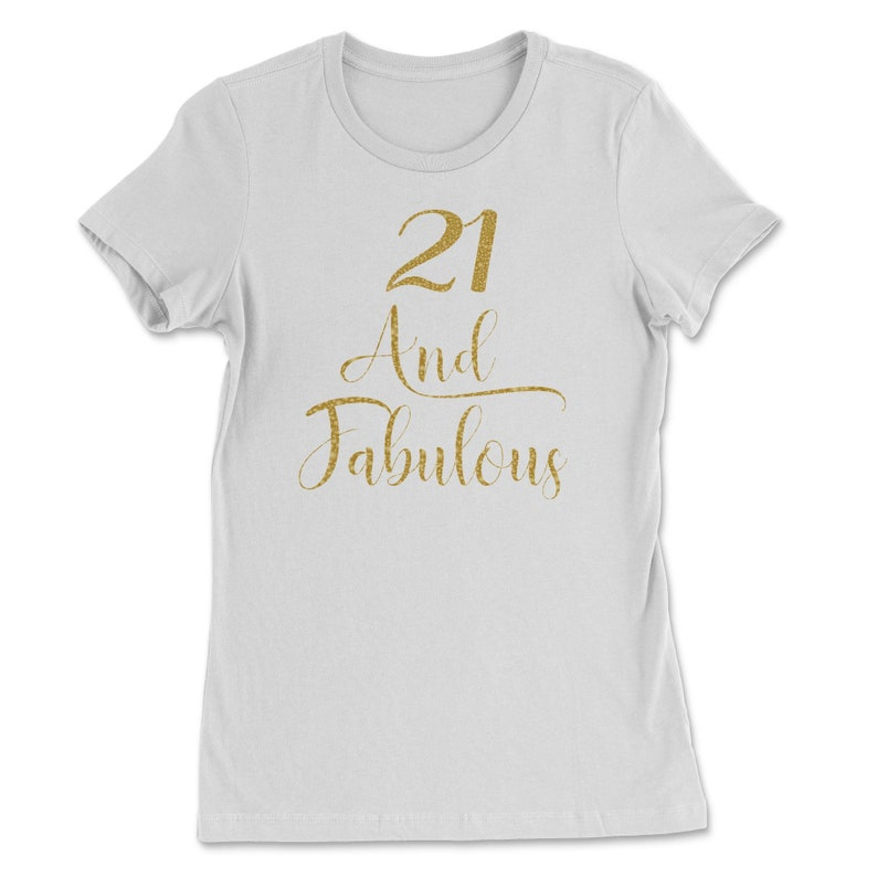 Women 21 Years Old And Fabulous 21st Birthday Party design