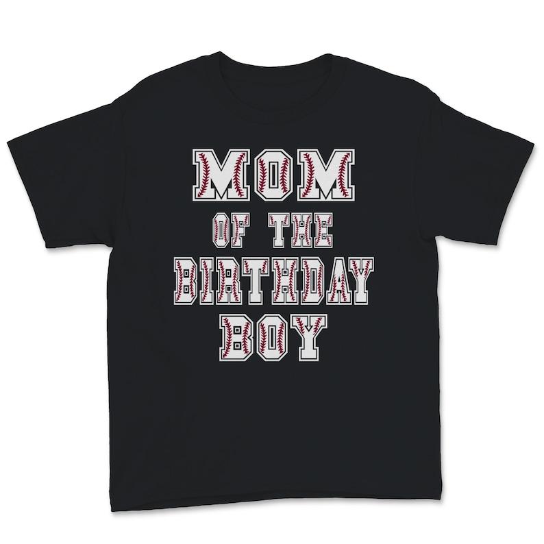 Mom Of The Birthday Baller Baseball Themed Party design