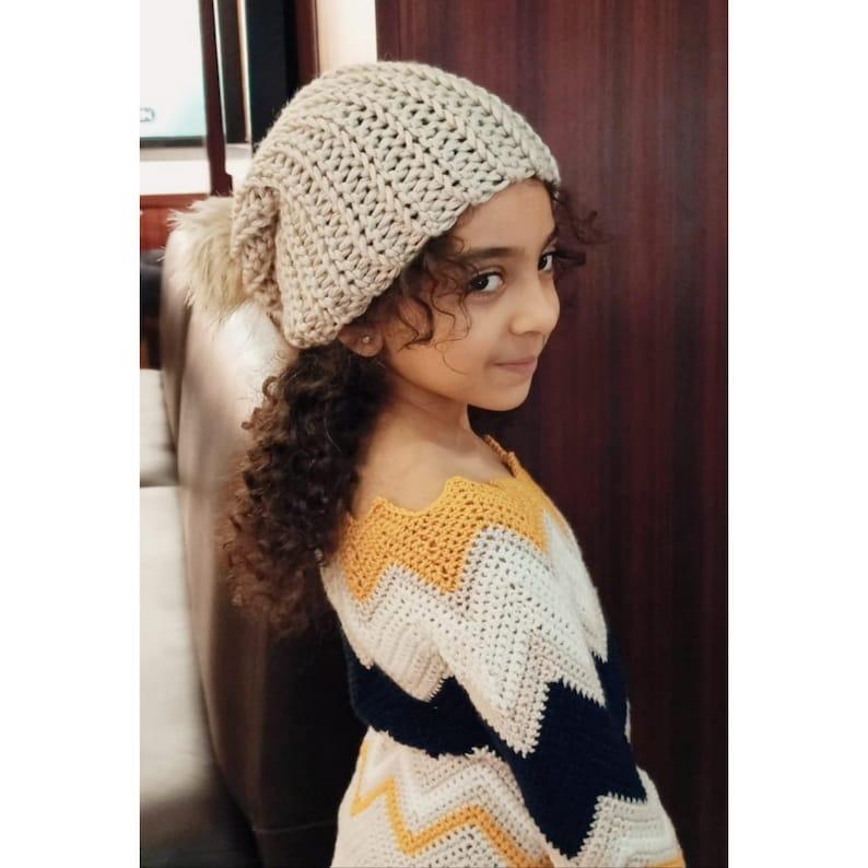 Chevron zigzag sweater kids