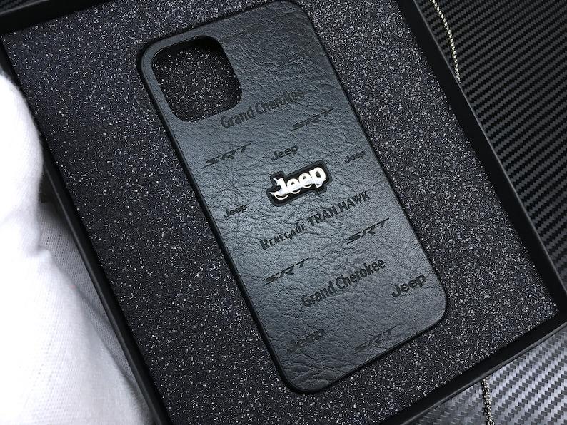 Case Phone Auto Logo Samsung S9 Plus Case Phone Leather Black