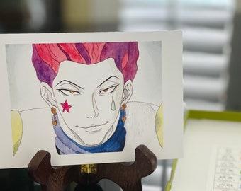 Anime Watercolor Etsy