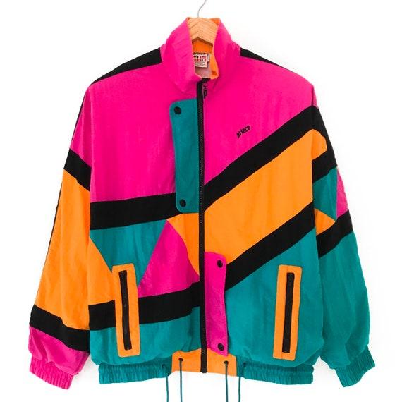 Vintage Prince colorblock windbreaker