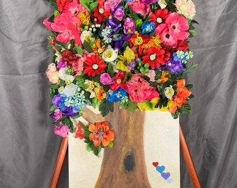 Original - Garden of Happiness - Floral Art