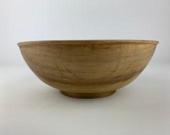 Tulip Poplar Wood Bowl