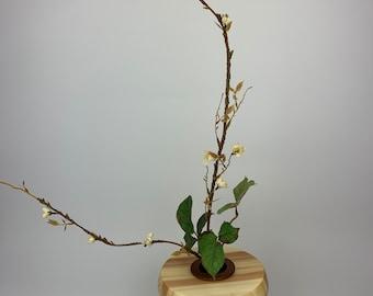 Aspen Wood Ikabana Vase